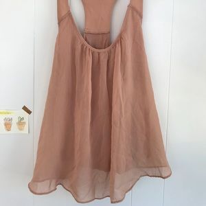 forever 21 dusty rose colored tank